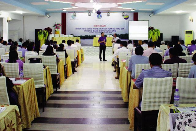 Tôm sú hữu cơ: Tạo sự khác biệt cho thương hiệu tôm Việt