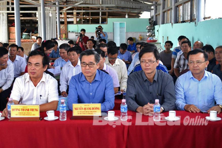 Hợp tác xã tôm công nghệ cao đầu tiên tại Bạc Liêu