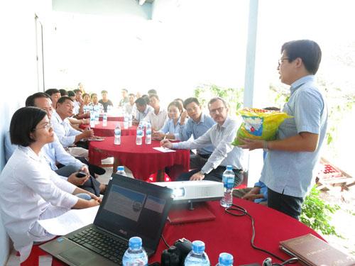 Hội nghị chia sẻ kinh nghiệm canh tác lúa - tôm hữu cơ