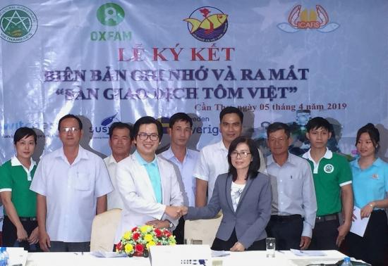 Ra mắt Sàn giao dịch tôm Việt