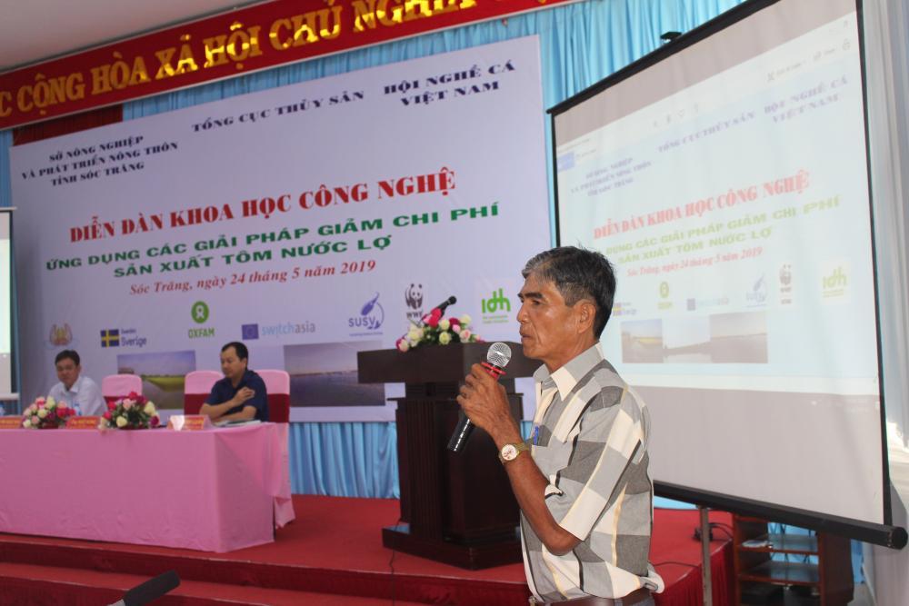 Tìm giải pháp giảm chi phí sản xuất tôm nước lợ